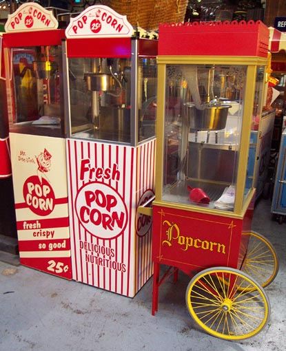 for popcorn machine