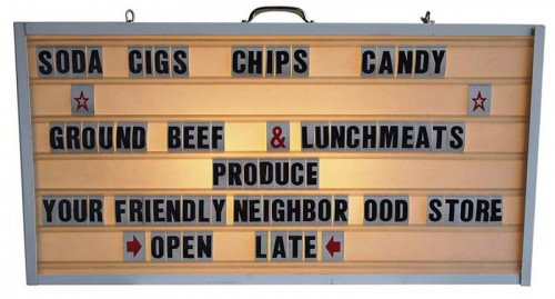 lighted letter signs. Lighted Letter Board Sign Signs