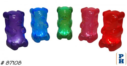 gummy bear night light in ice cream yogurt candy