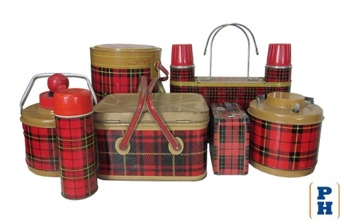 Plaid Camping Accessories