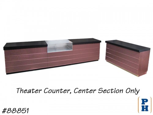Theater Counter, Center Section Only