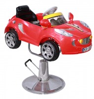 Barber Chair<br> Child`s Red Car