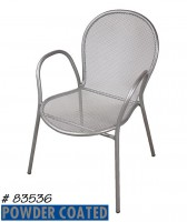Chair, Powder Coated
