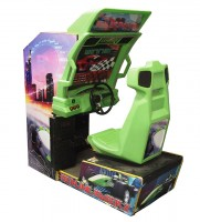 arcade racing game - video game