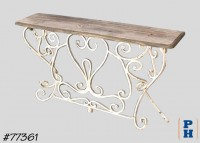 Console Table, Display