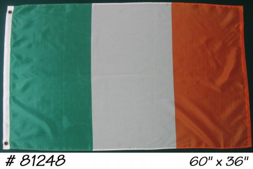 Flag, irish bar