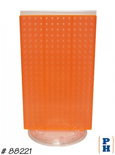Plastic Pegboard Display Unit
