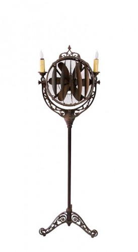 Mortuary Fan Lamp