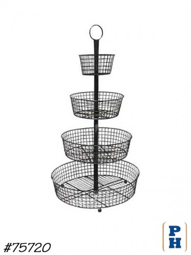 Wire Basket Store Display
