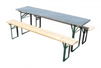 Campsite Picnic Table & Bench