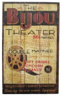 Bijou Theater Sign