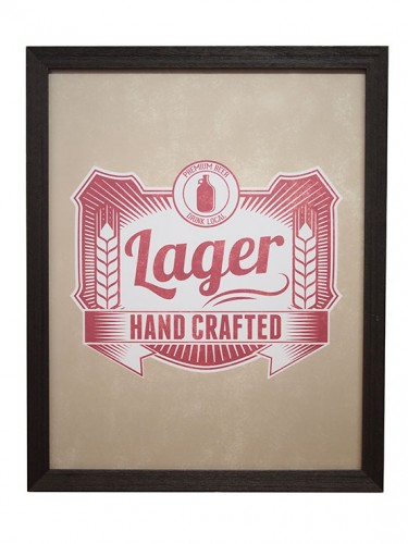 Sign, Lager Beer