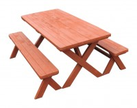 Campsite Picnic Table & Benches