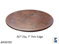 Copper Table Top