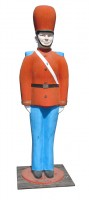 oversize toy soldier