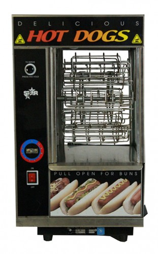 Hot Dog Machine, Rotisserie