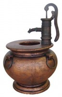 Hand Pump Fountain